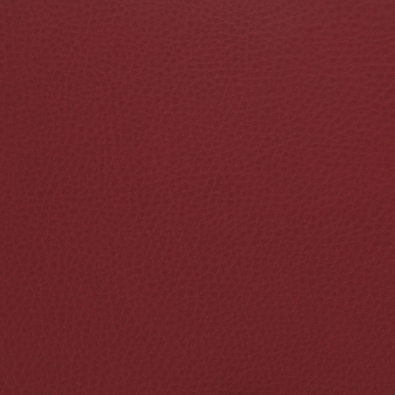 red kirsche faux leather fabric sample
