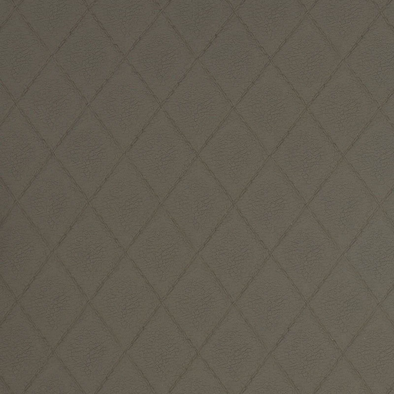 brown grey tailored clay faux leather fabric sample